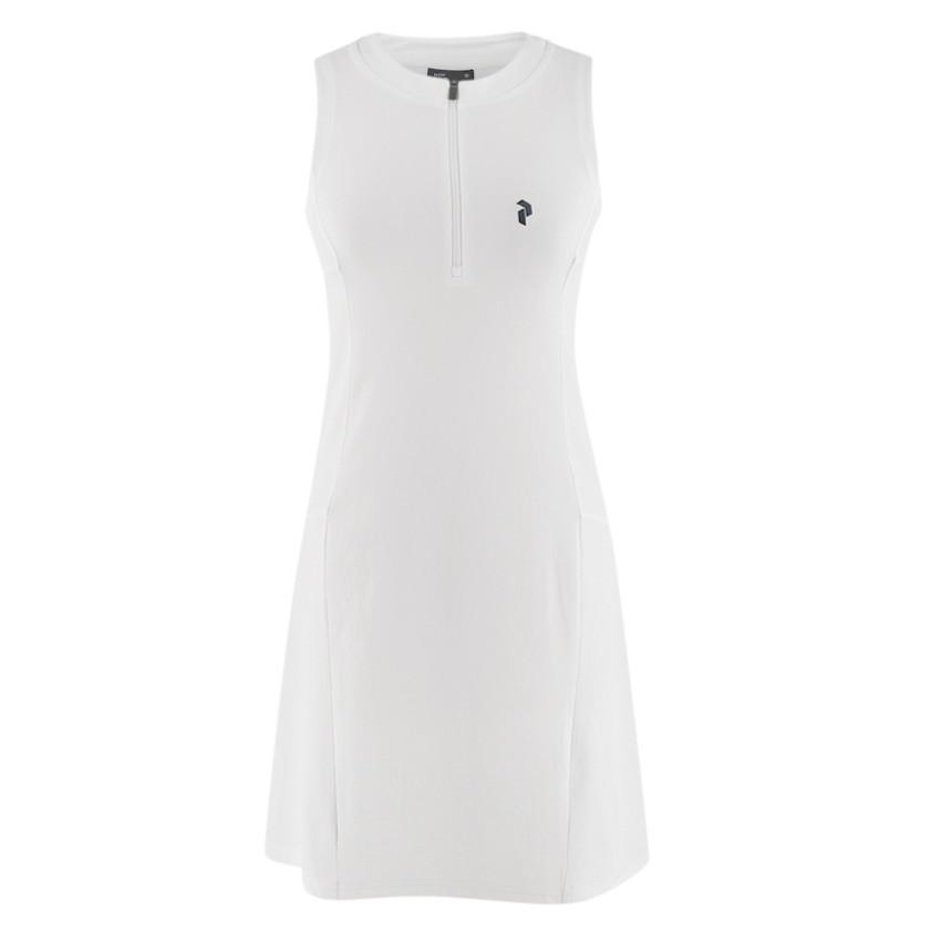 Peak Performance White Sleeveless Tennis Dress