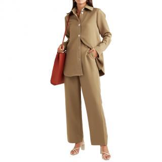 Stine Goya Khaki Cady Shirt & Trousers