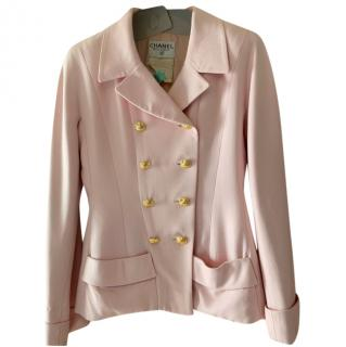 Chanel Pale Pink Tailored Jacket & Skirt Suit
