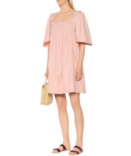 Three Graces London Emmeline Cotton Poplin Dress