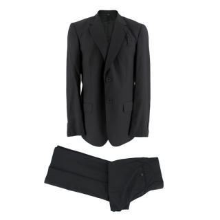 Viktor & Rolf Dark Grey Two Piece Single Breasted Suit