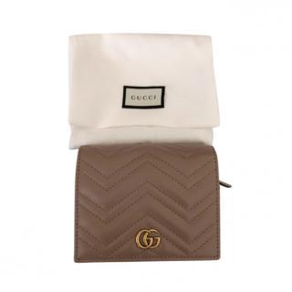 Gucci Dusty Pink GG Matelasse Wallet
