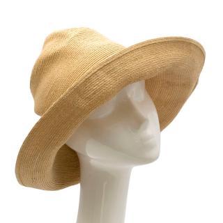 Grevi Natural Oversize Straw Hat
