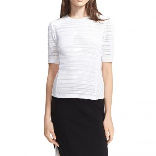 Rag & Bone 'Basha' Leather Shoulder Top