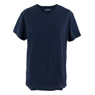 Vilebrequin Navy V Neck T-shirt