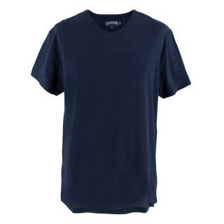 Vilebrequin Navy V Neck T-shirt