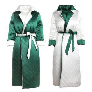 Zizi Donohoe Bespoke Reversible Silk Duvet Coat - Current