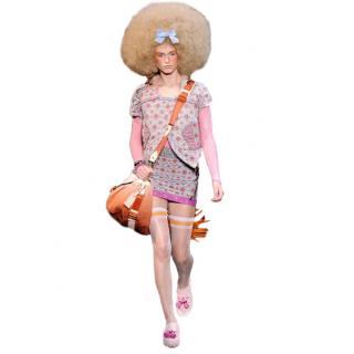 Louis Vuitton by Marc Jacobs Brocade Mini Skirt