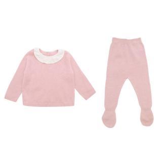 La Coqueta Dusty Pink Laria Cashmere Set