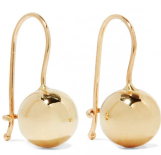 Grace Lee 14kt Gold Tama Sphere Earrings