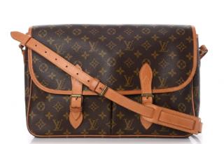 Louis Vuitton Monogram Gibeciere GM Satchel