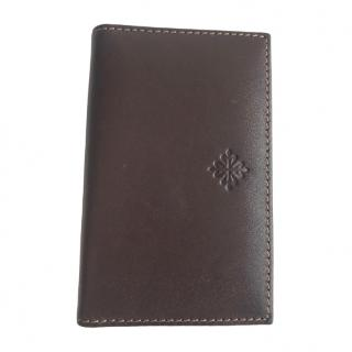 Patek Philippe brown leather VIP card holder