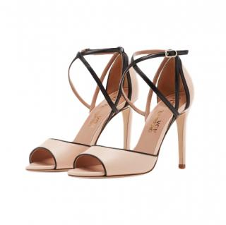 Diane von Furstenberg Anais Leather Sandals