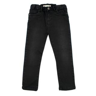 Bonpoint Girl's Black Denim Skinny Jeans