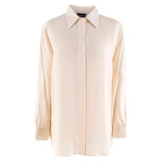 Giorgio Armani Cream Silk Blouse