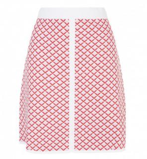 Sandro Knit A-line Skirt