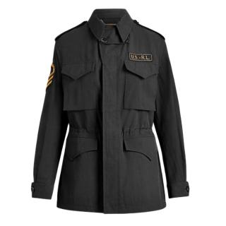 Ralph Lauren Collection Black Tailored Military Jacket