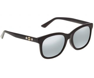 Gucci Mirrored GG0346SA Square Embellished Sunglasses