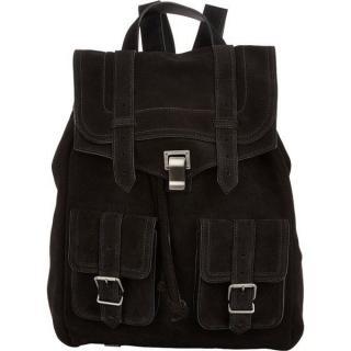 Proenza Schouler Black Suede Backpack