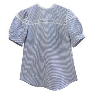Lauren Ralph Lauren Blue Striped Top
