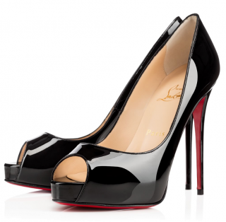 Christian Louboutin Very Prive 120 Patent Calf Pumps