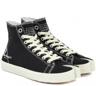 Maison Martin Margiela Tabi canvas high-top sneakers
