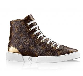 Louis Vuitton Monogram Stellar Sneaker Boots
