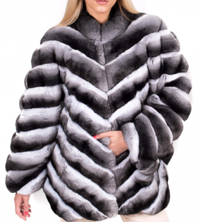 FurbySD chinchilla fur coat