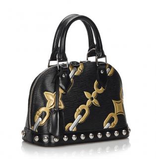Louis Vuitton Epi Chain Flower Alma BB Bag