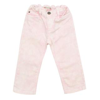 Bonpoint Girl's Pink Bleached Wash Skinny Jeans