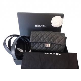 Chanel Caviar Leather 2.55 Reissue Belt Bag