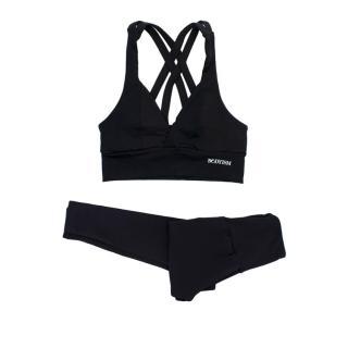 Bodyism Black Sports Bra And Leggings Set