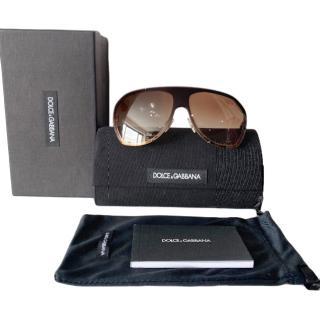 Dolce & Gabbana oversized aviator sunglasses