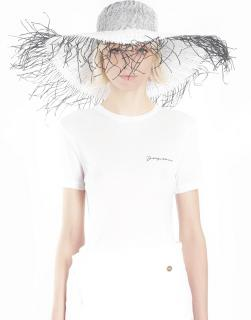 Jacques white riviera straw hat SOLD OUT