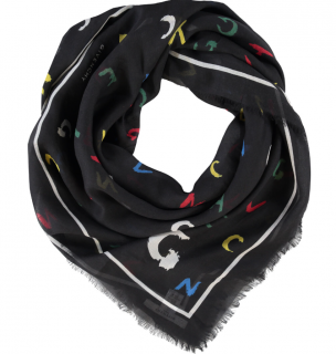 Givenchy silk GIVENCHY letter scarf