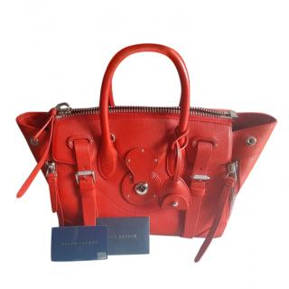 Ralph Lauren Red Limited Edition Ricky bag