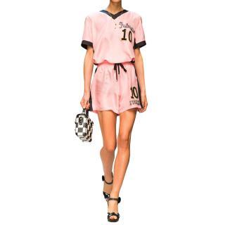 Dolce & Gabbana Italia 10 Silk Twill shorts