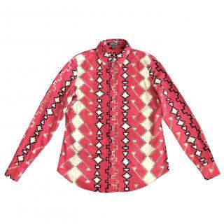 Lauren Ralph Lauren Red Printed Shirt