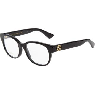 Gucci glossy black square frames