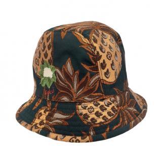 Gucci Pineapple Print Bucket Hat
