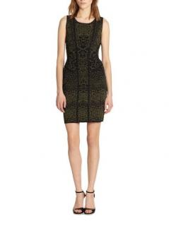 Diane Von Furstenberg Knit Sleeveless Dress