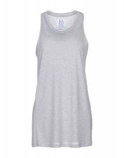 Zoe Karssen Grey Sleeveless Vest