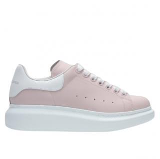Alexander McQueen Pink Oversize Sneakers