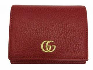 Gucci small red compact wallet
