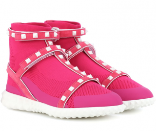 Valentino Garavani Free Rockstud high-top sneakers