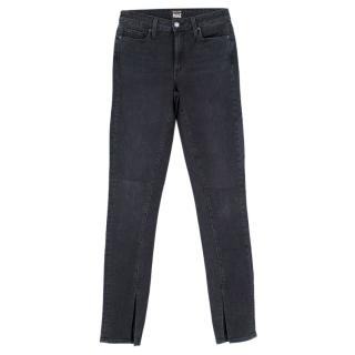Paige Rosie HW Black High Waisted Skinny Jeans