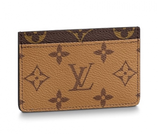 Louis Vuitton Monogram Reverse Card Holder