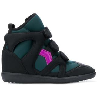 Isabel Marant Buckee neoprene wedge trainers