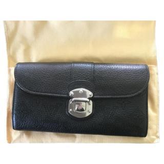 Louis Vuitton Black Mahina Wallet