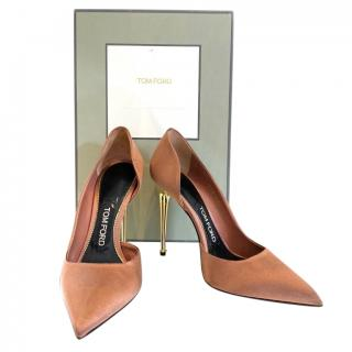 Tom Ford D'Orsay Satin Pumps